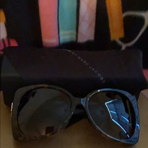 New Marc by Marc Jacobs  Tortoise Shell Sunglasses